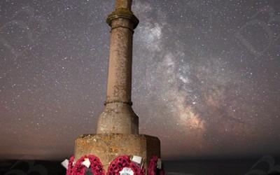 Milky Way ~ Freshwater West War Memorial…