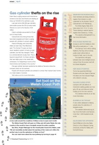 The Camping and Caravanning Magazine ~ April 2012