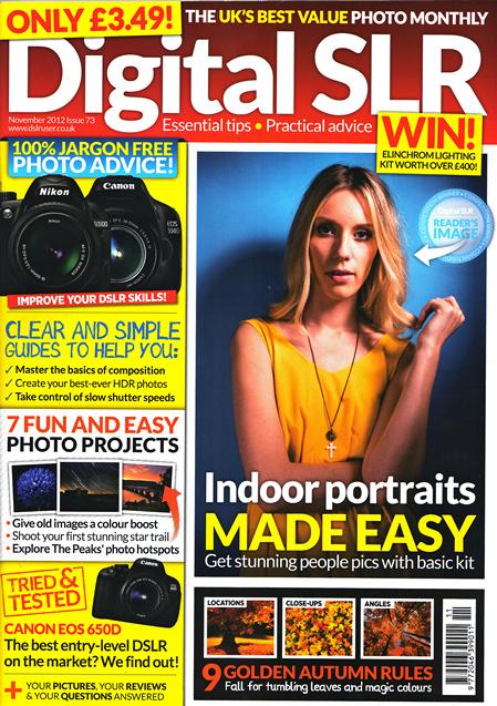 Digital SLR Magazine ~ November 2012