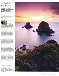 Outdoor Photography Magazine ~ September 2012