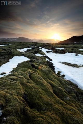 Sudurlandsvegur Lava Fields
