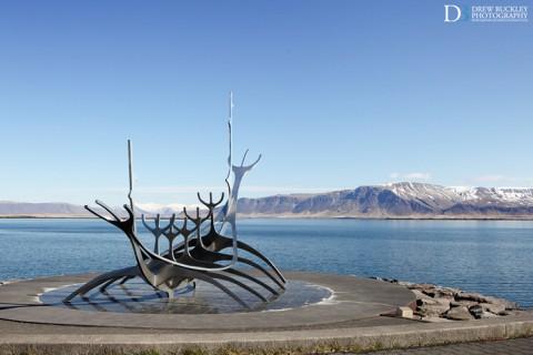 Solfar (Sun Voyager) Sculpture in Reykjavik