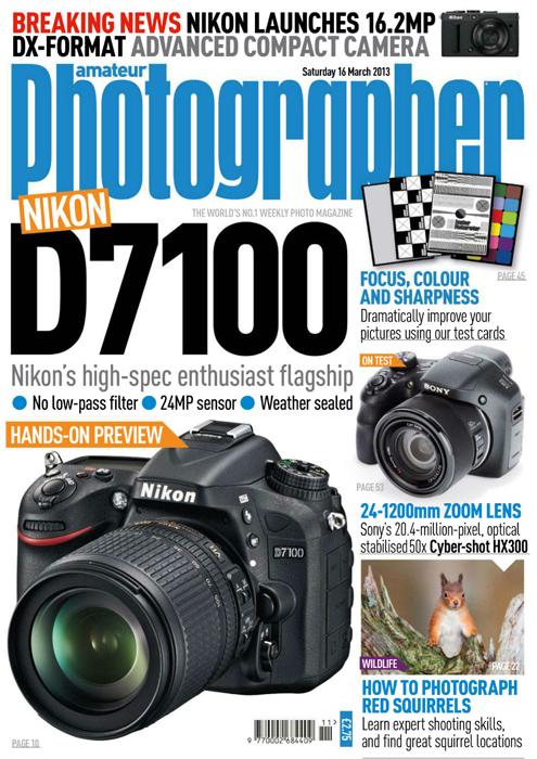 Amateur Photographer Magazine – 16th March 2013