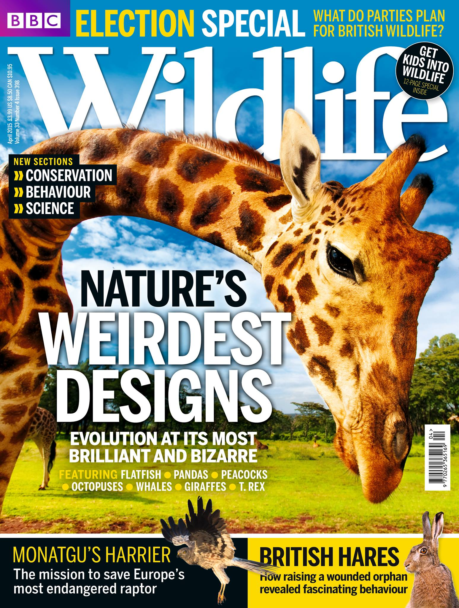 BBC Wildlife Magazine – April 2015
