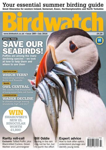 Birdwatch Magazine - July 2016