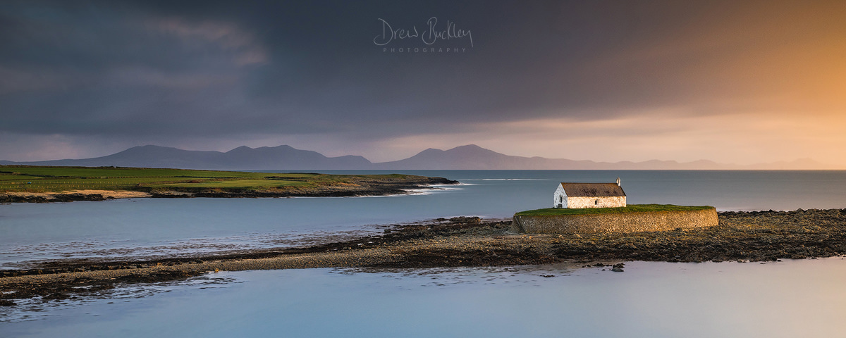 St Cwyfan's Church Panoramic