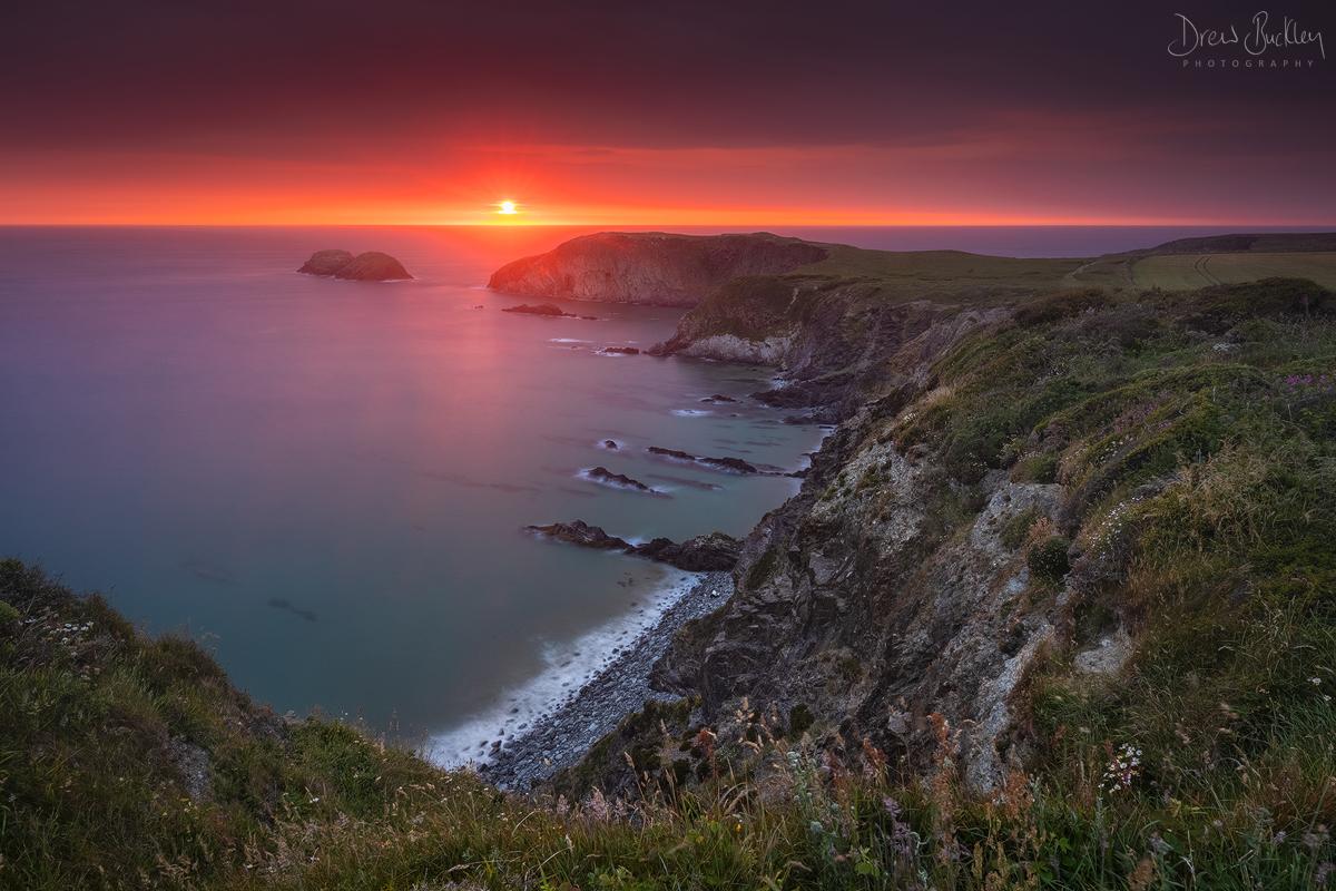 Traeth Llyfn Sunset