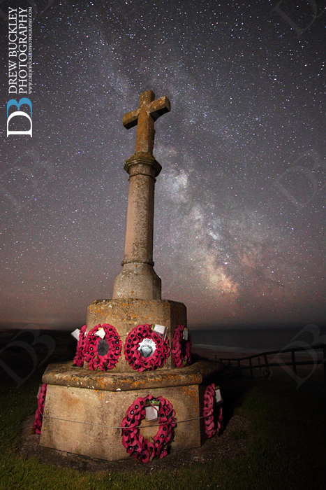 Milky Way ~ Freshwater West War Memorial…