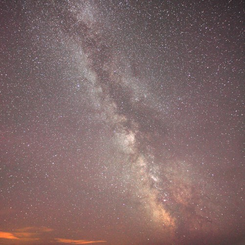 Milky Way ~ Elegug Stacks