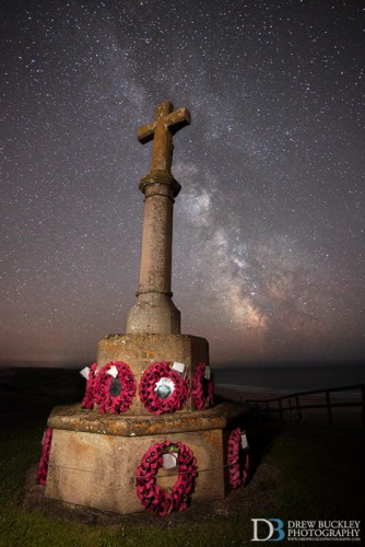 Milky Way - Freshwater West War Memorial