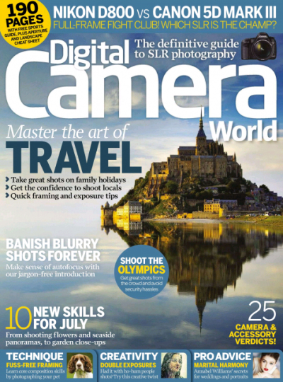 Digital Camera Magazine ~ July 2012