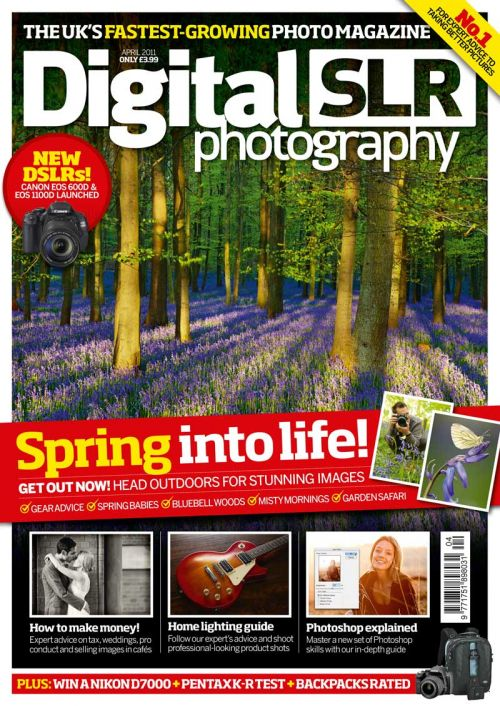 Digital SLR Photography Magazine ~ April 2011