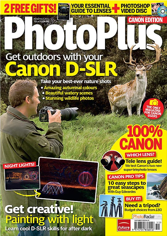 PhotoPlus Magazine ~ November 2011