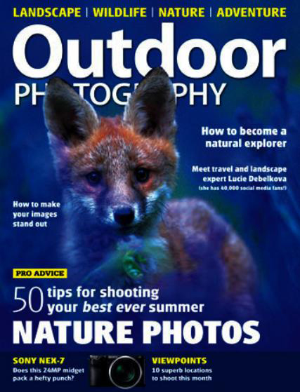 Outdoor Photography Magazine ~ July 2012