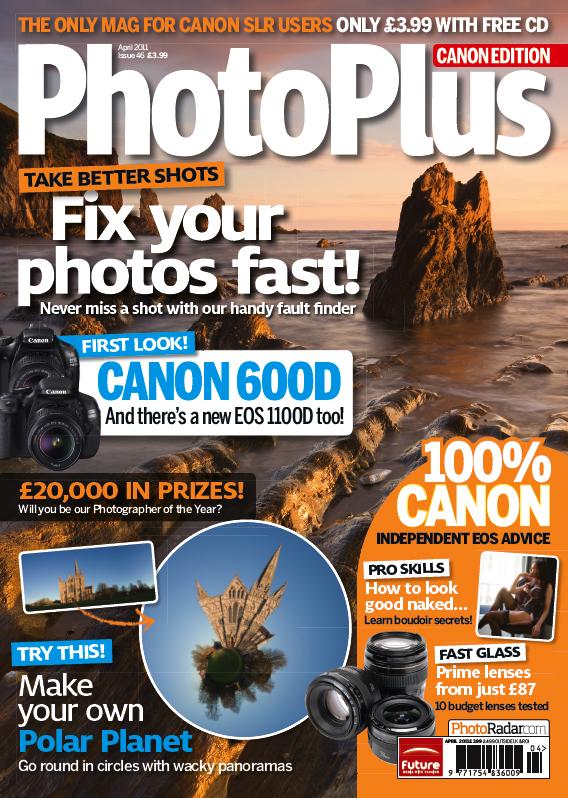 Photo Plus Magazine ~ April 2011