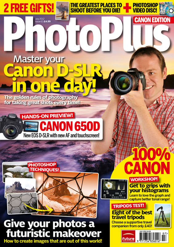 PhotoPlus Magazine ~ July 2012