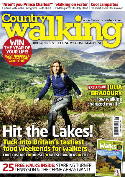 Country Walking Magazine ~ June 2012