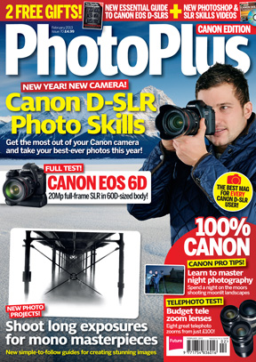 Photo Plus Magazine ~ February 2013