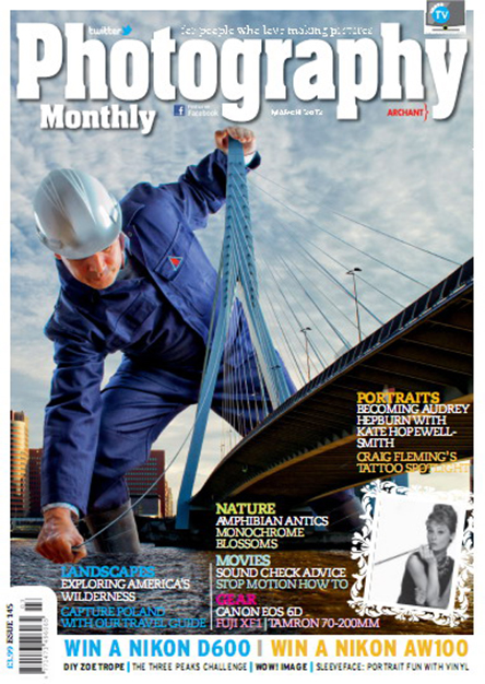 Photography Monthly magazine – March 2013