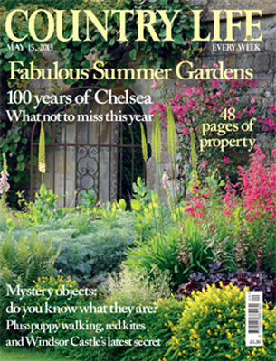 Country Life Magazine – May 15th 2013
