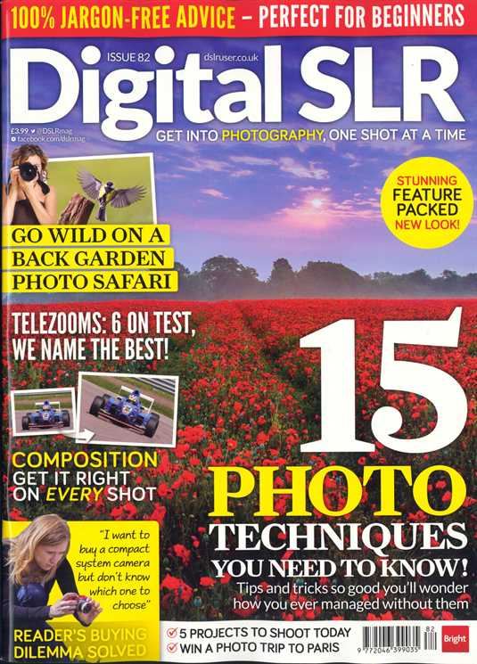 Digital SLR Magazine – Issue 82