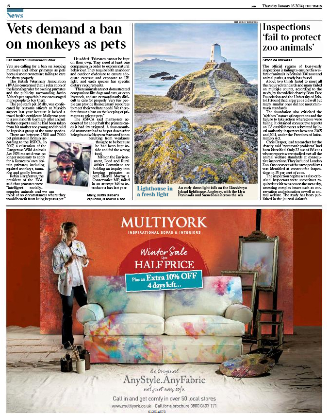 The Times – 16th January 2014