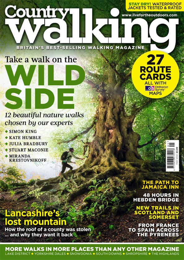 Country Walking magazine – May 2014