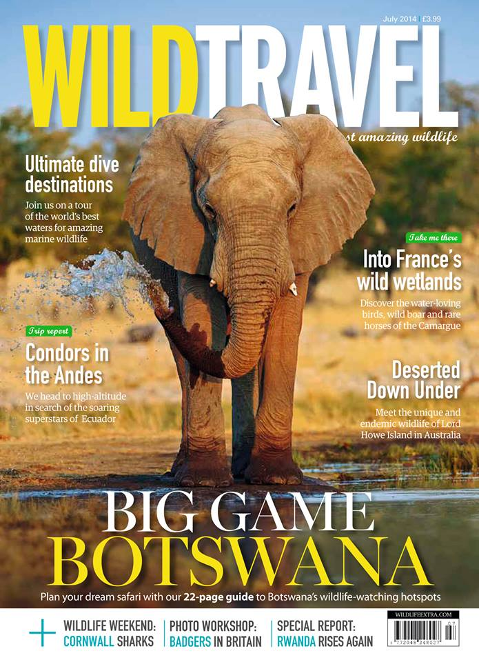 Wild Travel magazine – July 2014