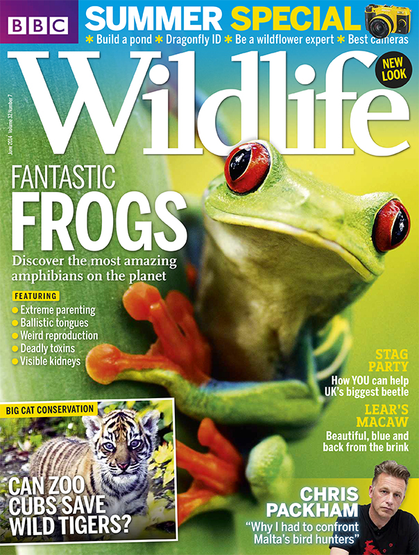 BBC Wildlife Magazine – June 2014