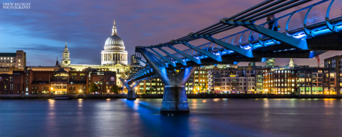 Millennium Bridge - St.Pauls Cathedral