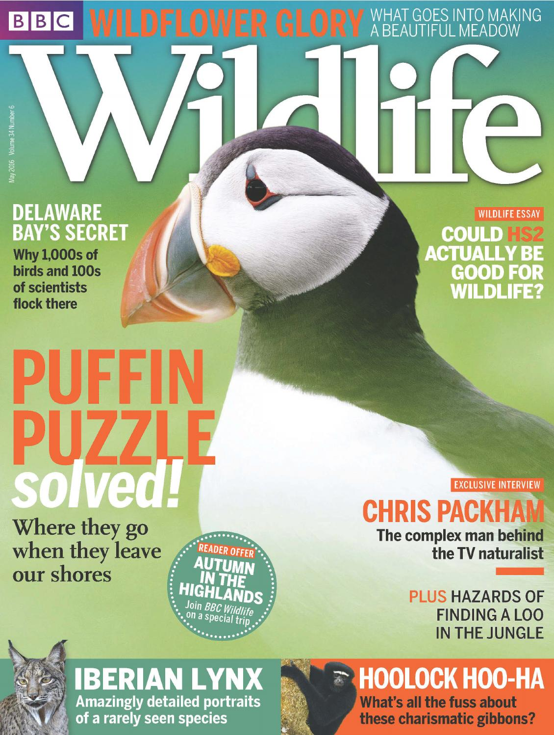 BBC Wildlife – May 2016