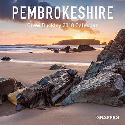 Drew Buckley 2018 Pembrokeshire Calendar - Front Cover