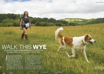 Kate Humble BBC Countryfile photoshoot